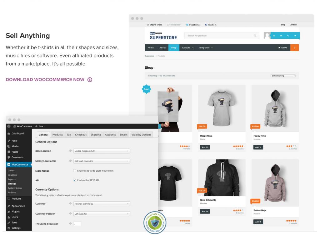 WooCommerce-wordpress
